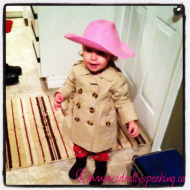 #FridayFunny: My toddler's unique sense of fashion
