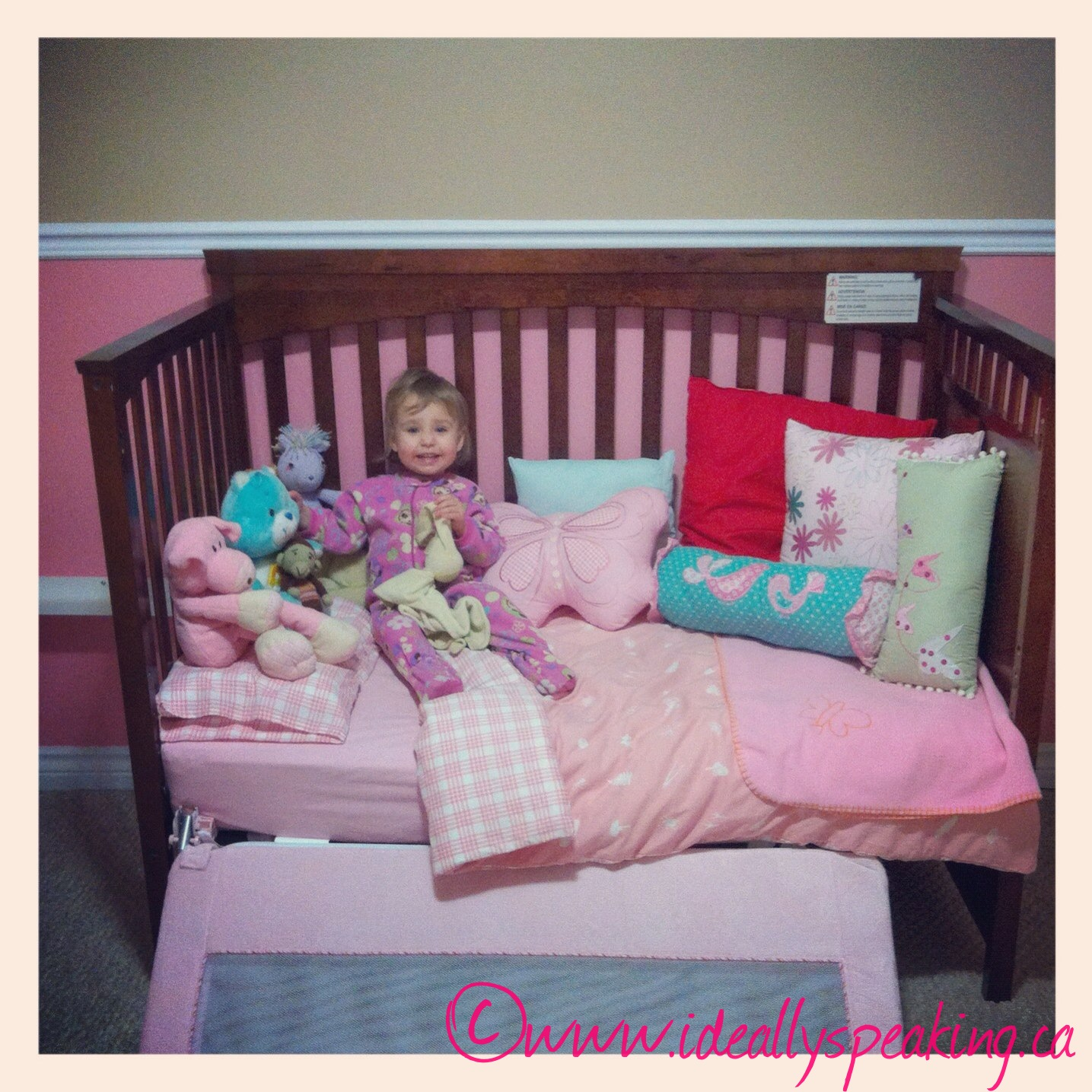toddler, toddler daybed, transition from crib, parenting,
