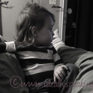 Talking With My Toddler #9: Cuddle Withdrawl
