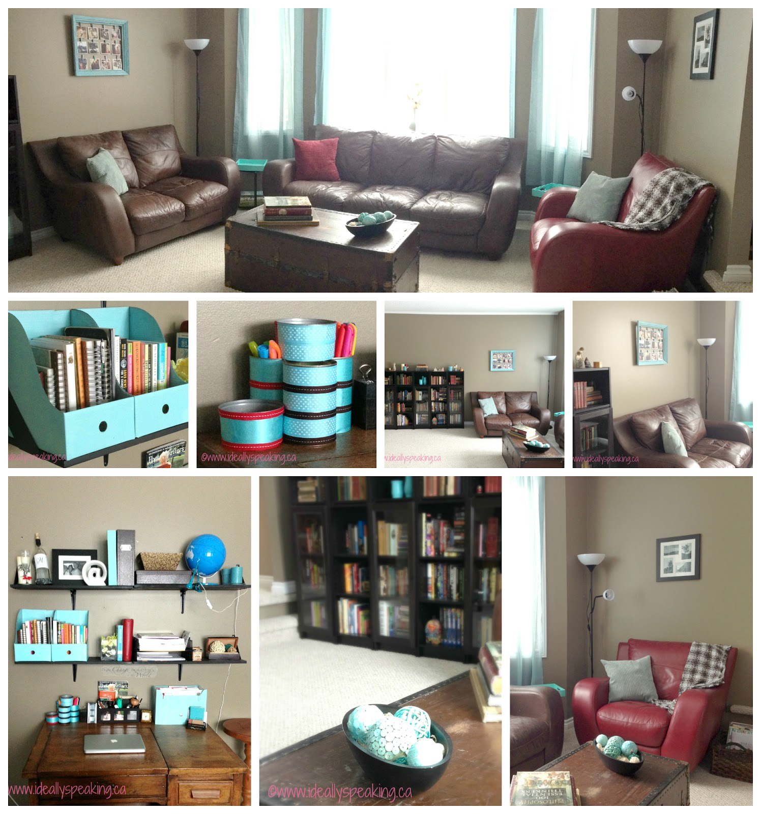 #PinterestHouseProject: The Study
