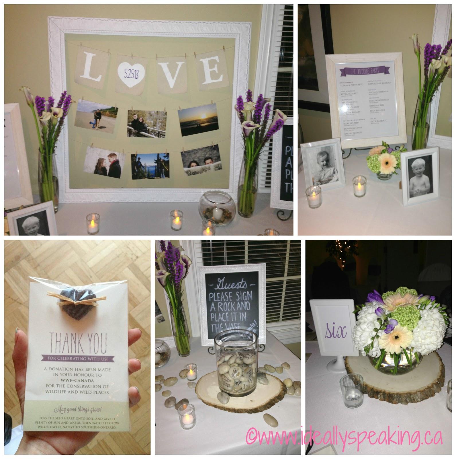 Beautiful DIY Wedding Decorations