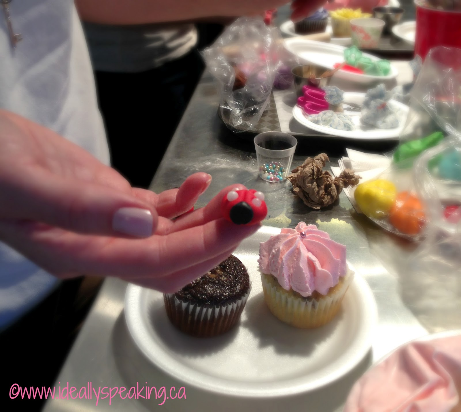 Cupcake Decorating Bachelorette