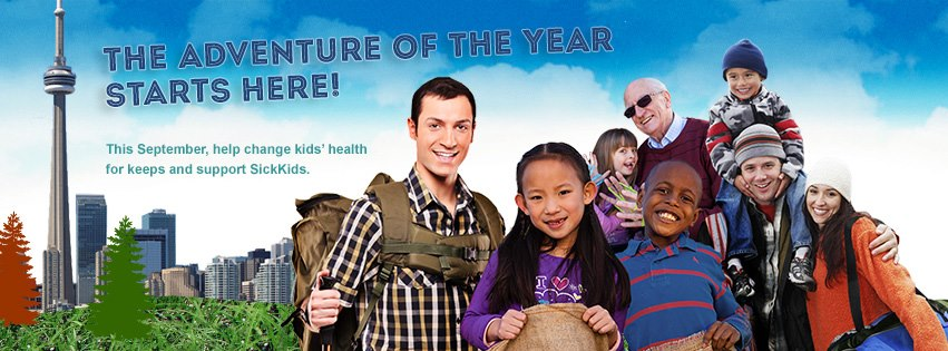 The Canaccord Genuity Great Camp Adventure benefiting SickKids