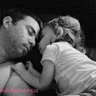 #WordlessWednesday with linky: Daddy's Girl Always.