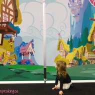 #WordlessWednesday with linky: Fun at Toronto BabyTime Show!