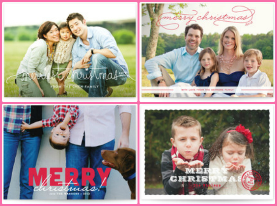 beautiful christmas card selection.