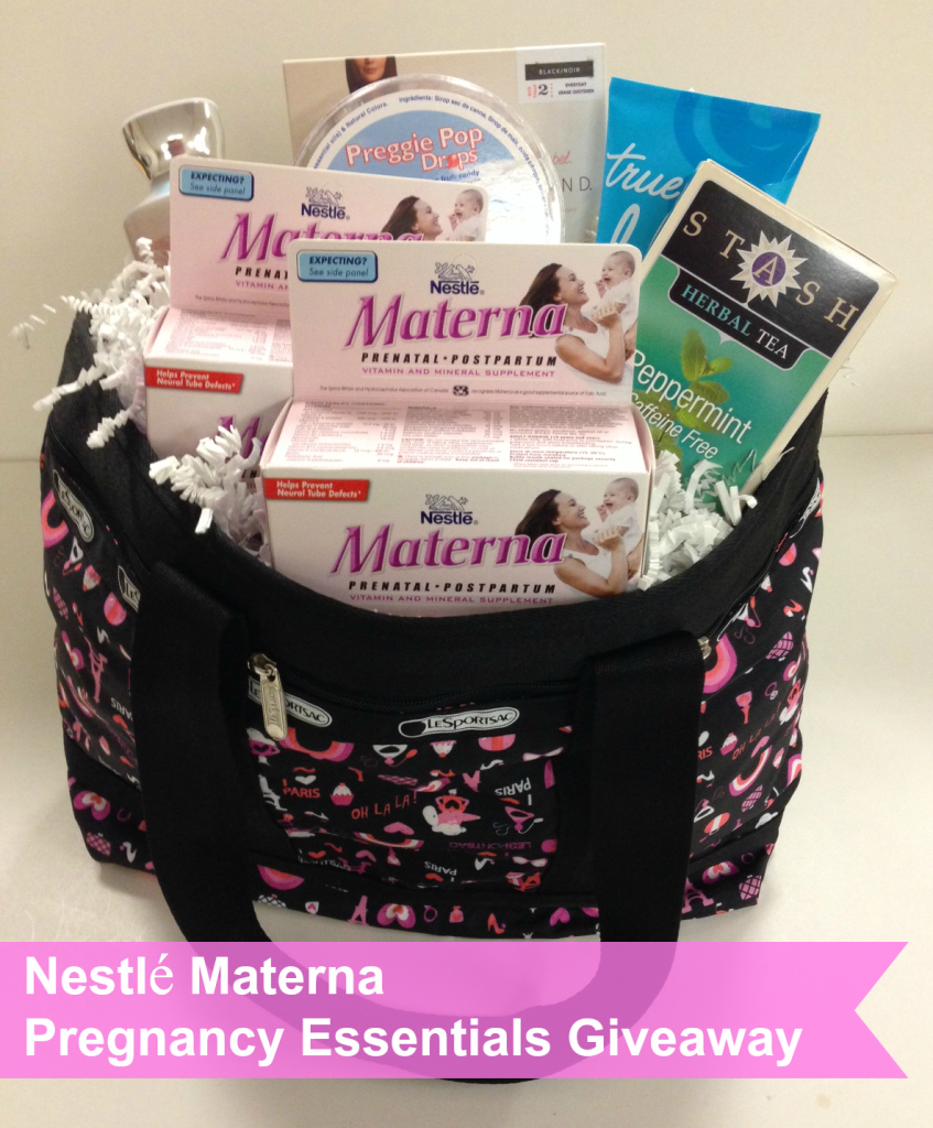 Pregnancy Essentials Giveaway, Materna prenatals
