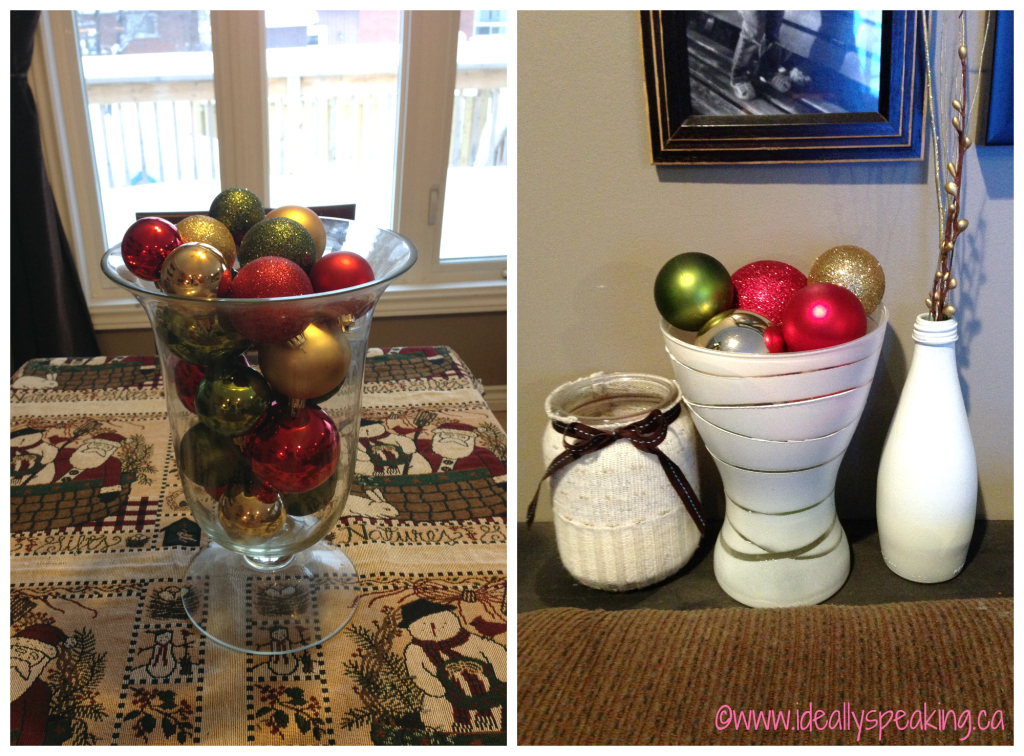 Super easy Christmas decorating