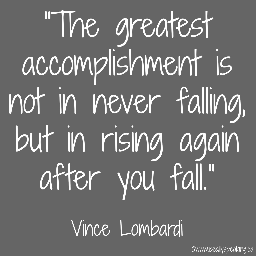 Greatest accomplishment quote, first 30 years