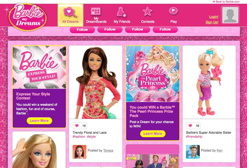 Barbie My Dreams Contest