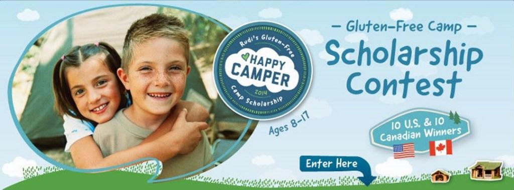 Rudis Happy Camper Scholarship