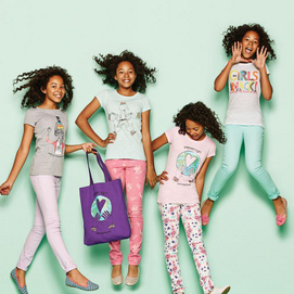 Limited Edition tshirts and totes in support of Because I am a Girl by Sears
