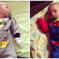 #WordlessWednesday with linky: SuperBaby!