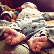 #WordlessWednesday: Baby Toes!