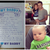 #WordlessWednesday with linky: Father's Day 2014!