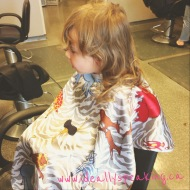 Lilly's first haircut!