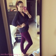 #WordlessWednesday: Post Partum Progress