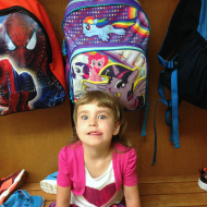 #WordlessWednesday: Lilly's First Day of Jr. Kindergarten!