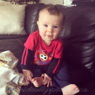 Wordless Wednesday: baby milestones & a preschool boyfriend