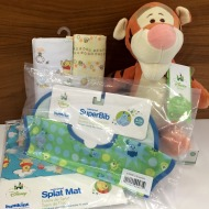 Giveaway #DisneyBabyCA Tips: 5 Ways to Soothe Baby's Skin in Winter