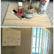 DIY Christmas Candy Holder with Mason Jars