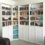 My pretty home library!