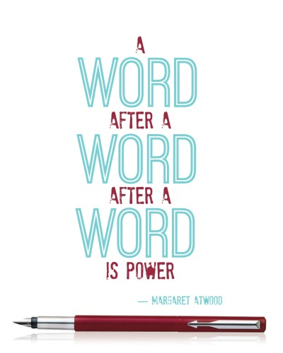 Margaret Atwood Quote Free Printable