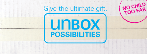 Rethink your 2014 gift ideas with survival gifts from Unicef.