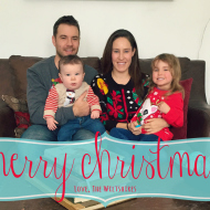 Wordless Wednesday: Our Christmas Card!