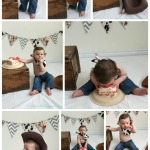 Colton's Cowboy Cake Smash