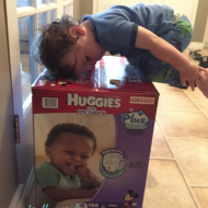 Getting on the Move With Huggies Little Movers Plus