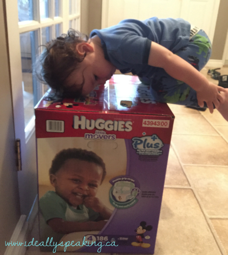 Costco Box of Huggies Little Movers