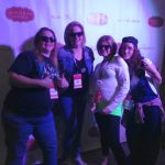 80s & 90s kids at the Blissdom 2014 #ThrowBackThursday Party!