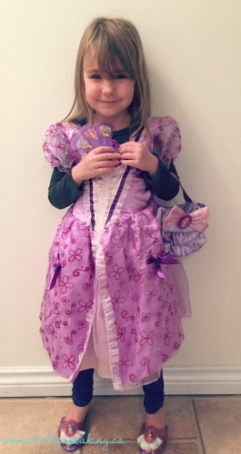 Disney Jr Sofia ThenFirstnCostume