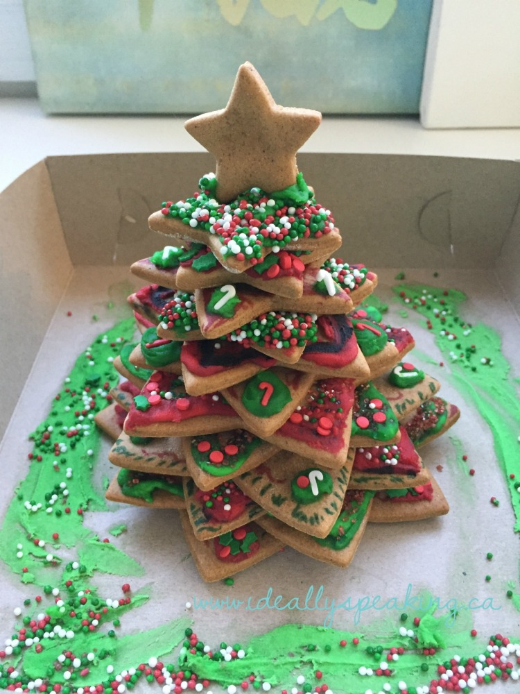 Gluten Free Gingerbread Tree Decorating