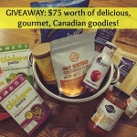 Gourmet food basket giveaway