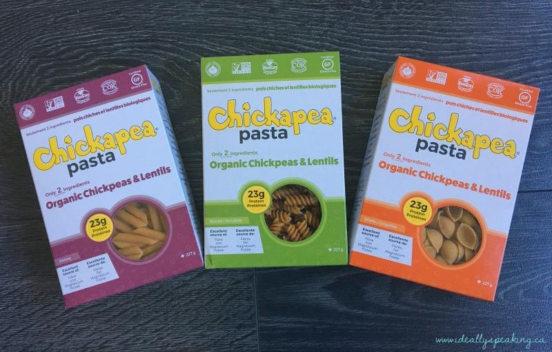 Delicious, organic and gluten free pasta.