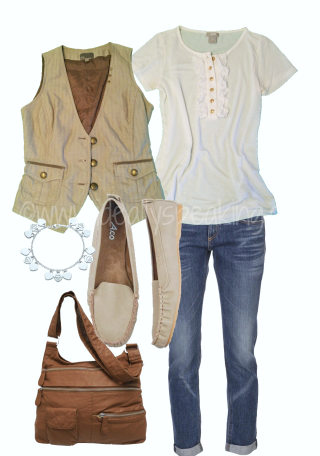 Preppy Hipster - Cute casual look for the office in summer or early fall!